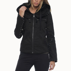 psylo fashion gothic-inspired streetwear jacket for women