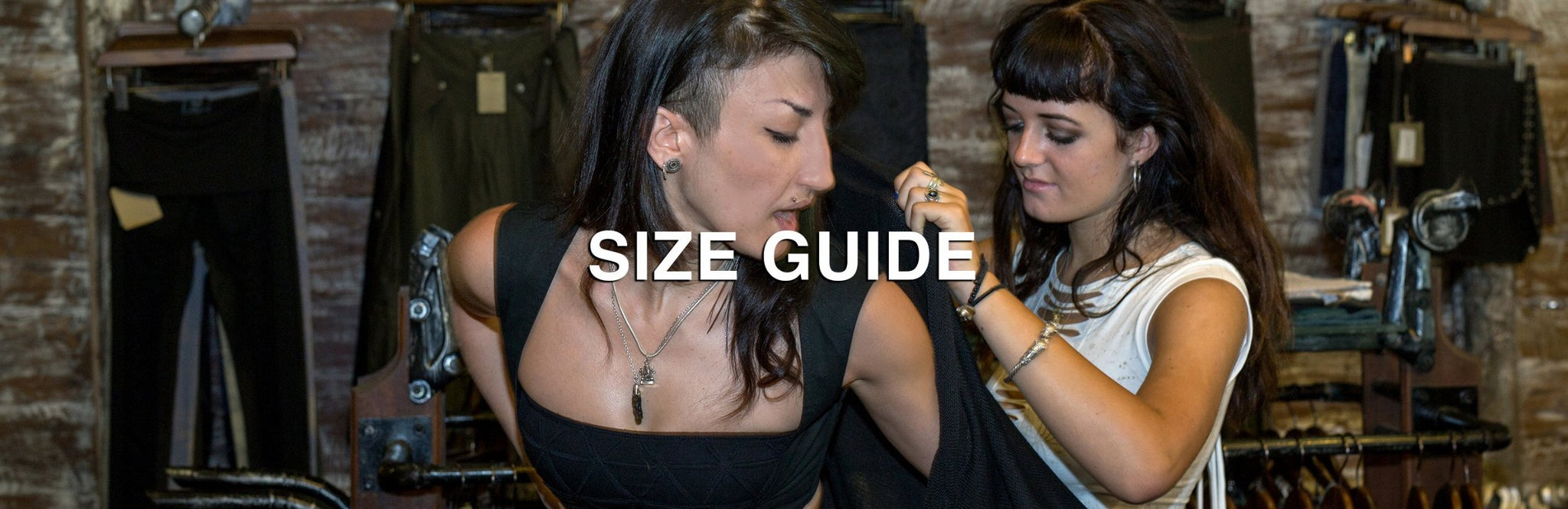 psylo fashion size guide