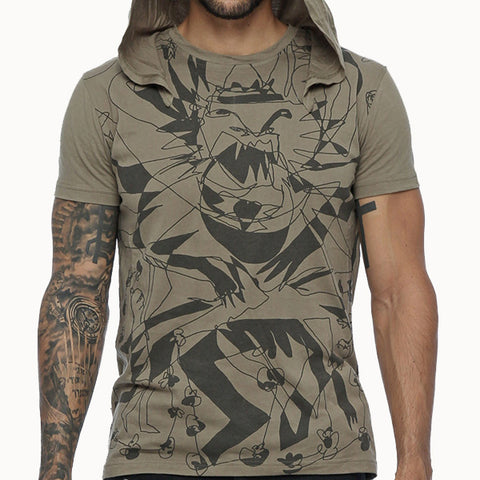 Hoodie T-shirt for men by Psylo Fashion