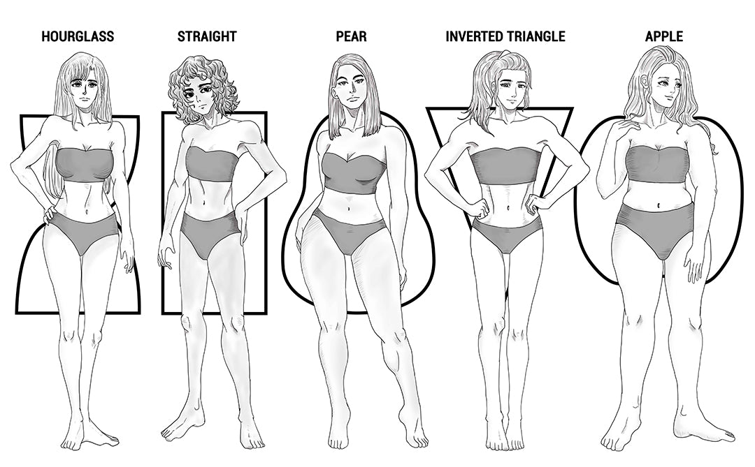 common body shapes for women