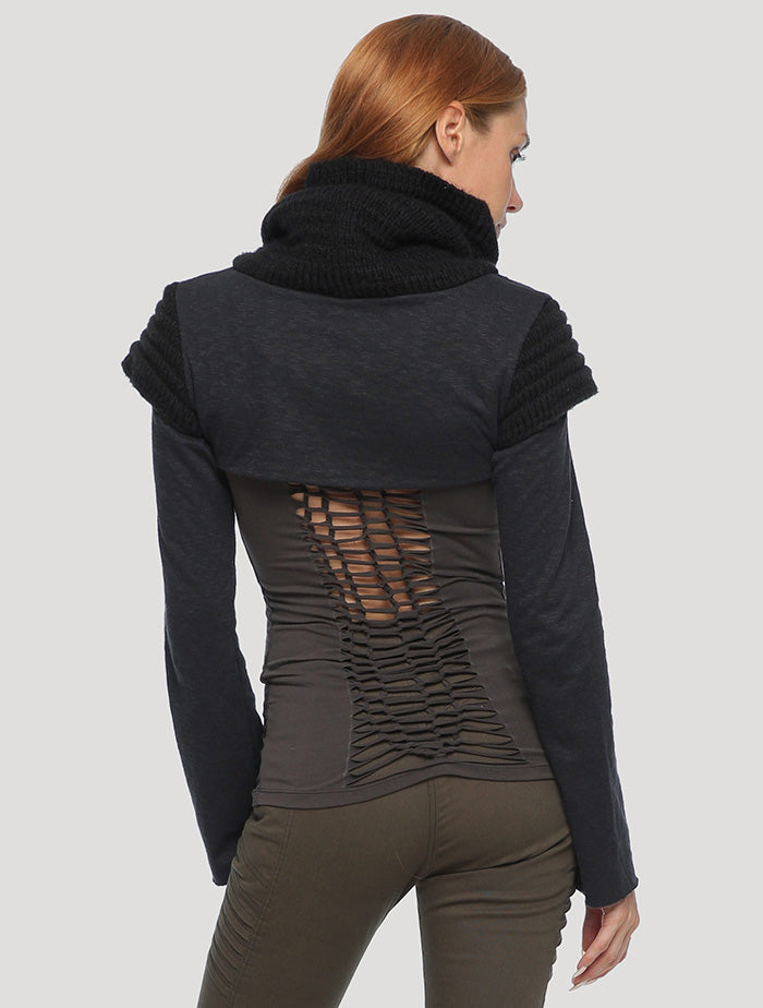 Armadillo Vmix Crop Sweater - Psylo Fashion