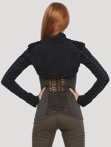 'Armajut' Sleeves Shrug
