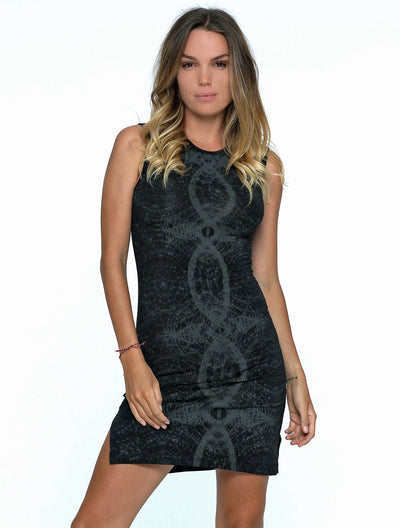 Atlantis' Sleeveless Short Dress