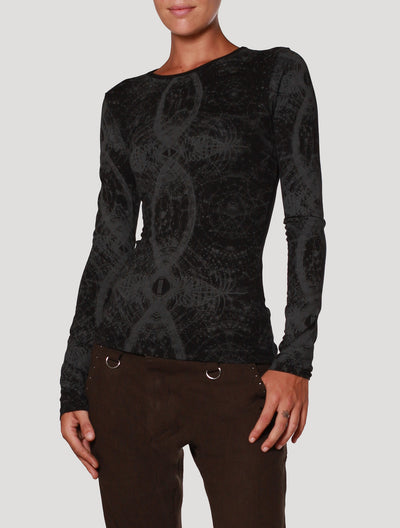 Atlantis' Braided Long Sleeves Top