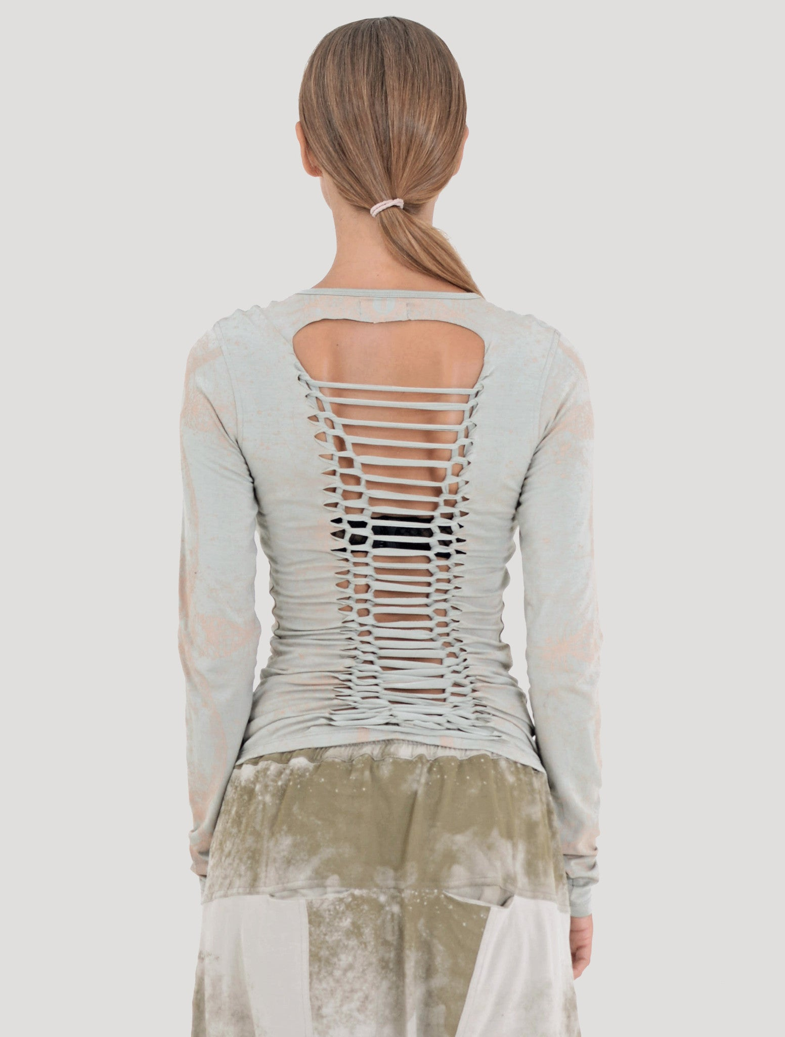 Atlantis  Braided Long Sleeves Top - Psylo