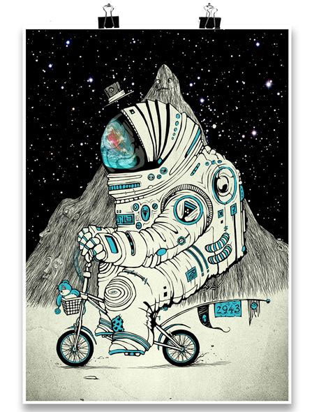 Astrofanan Art Print by PlazmaLab