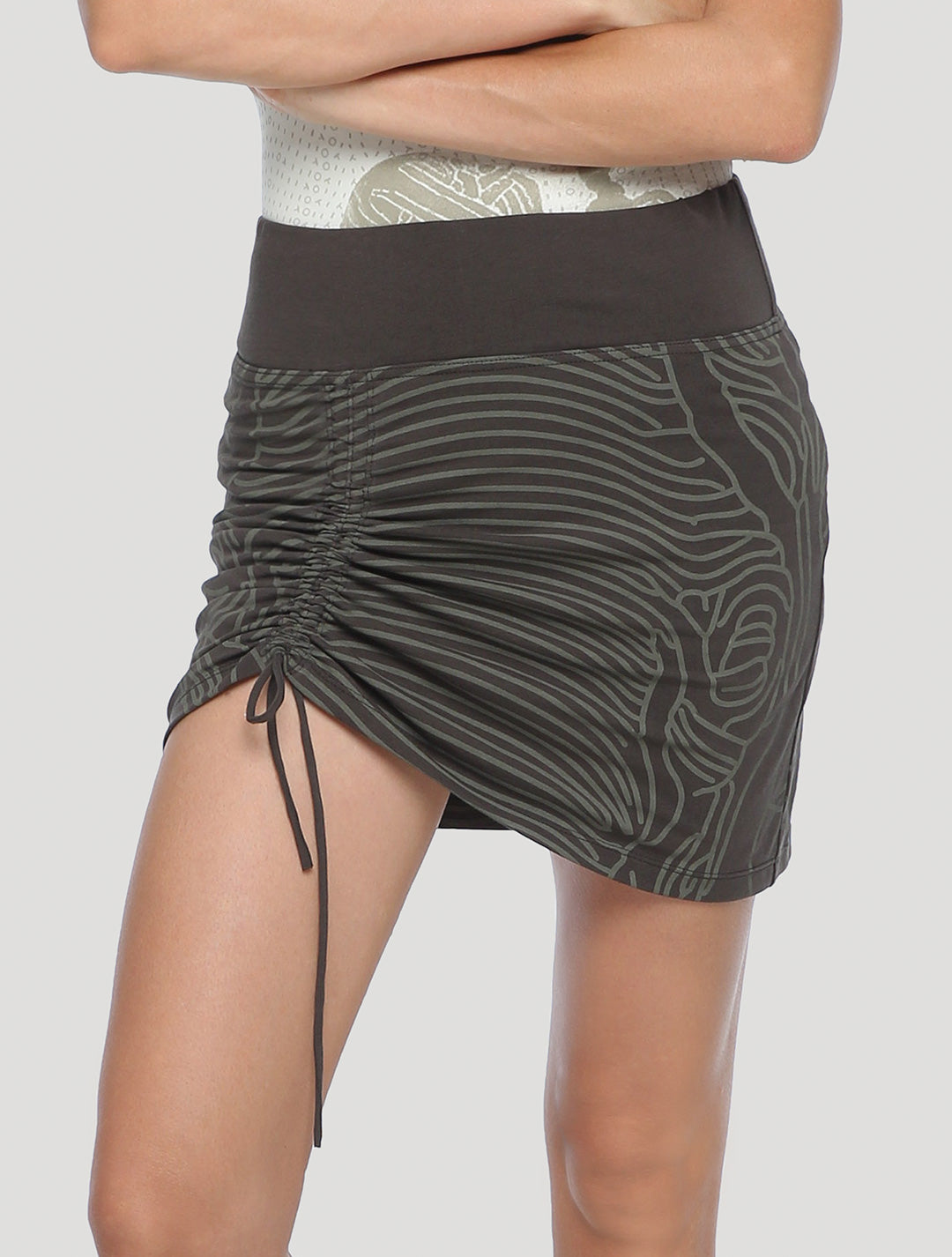 Bami Asymmetrical Mini Skirt - Psylo Fashion