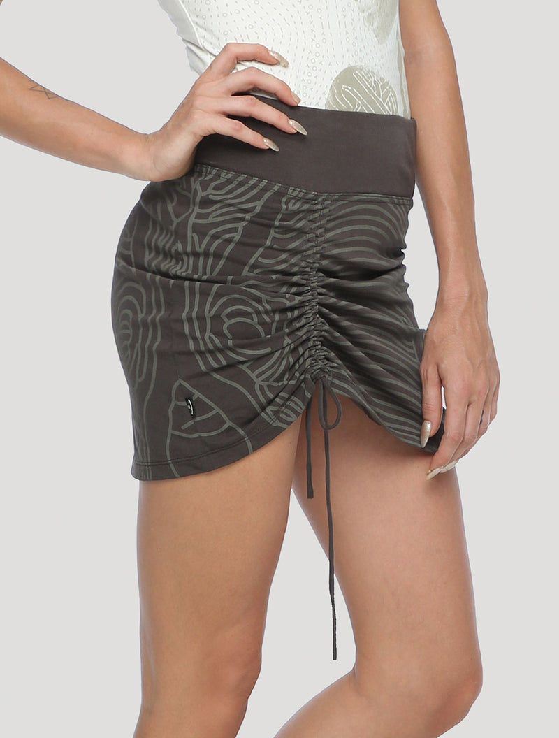 Bami Asymmetrical Mini Skirt