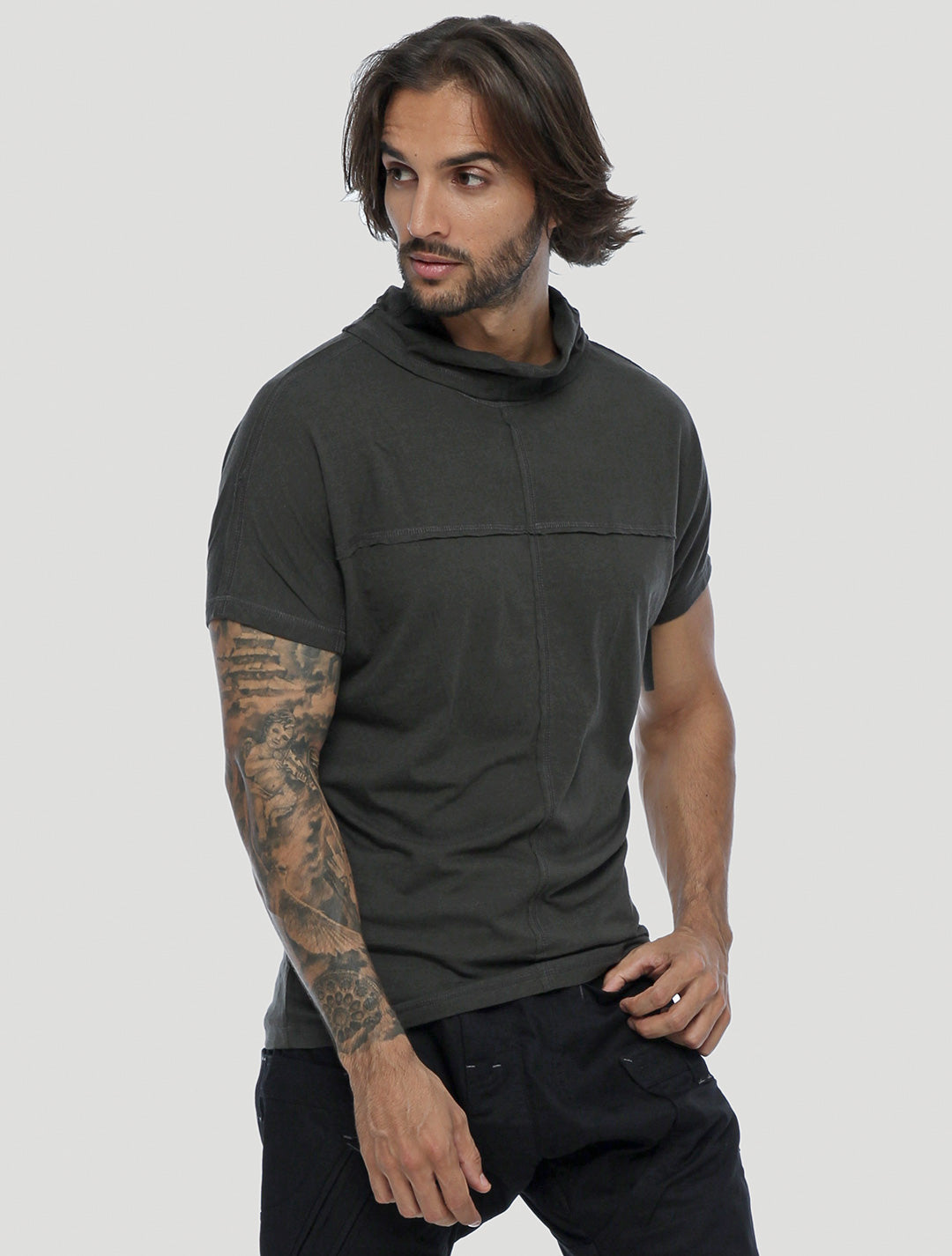 Baggy Short Sleeves Tee - Psylo Fashion