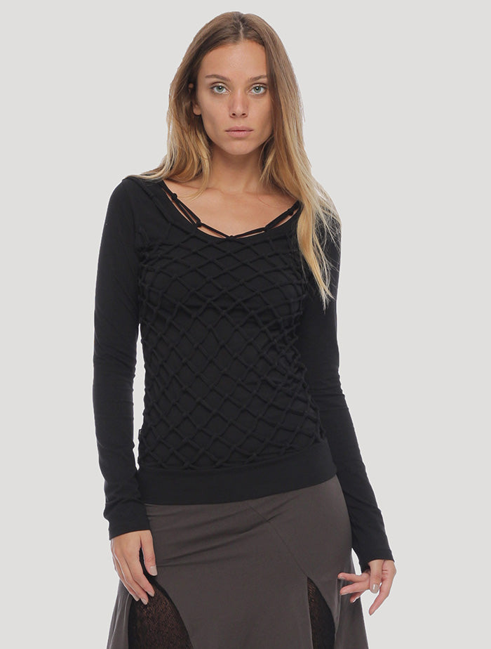 Basket Rmx Long Sleeves Top