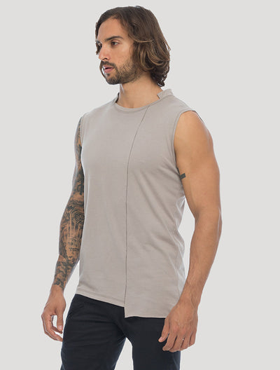 Blended Sleeveless Tee