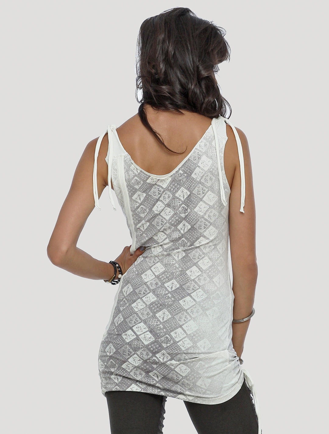 Batik Mini Dress - Psylo Fashion