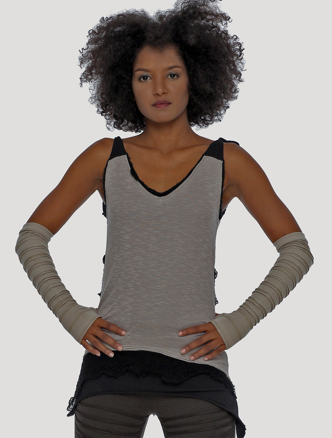 Chica Rmx Adjustable Sleeveless Top