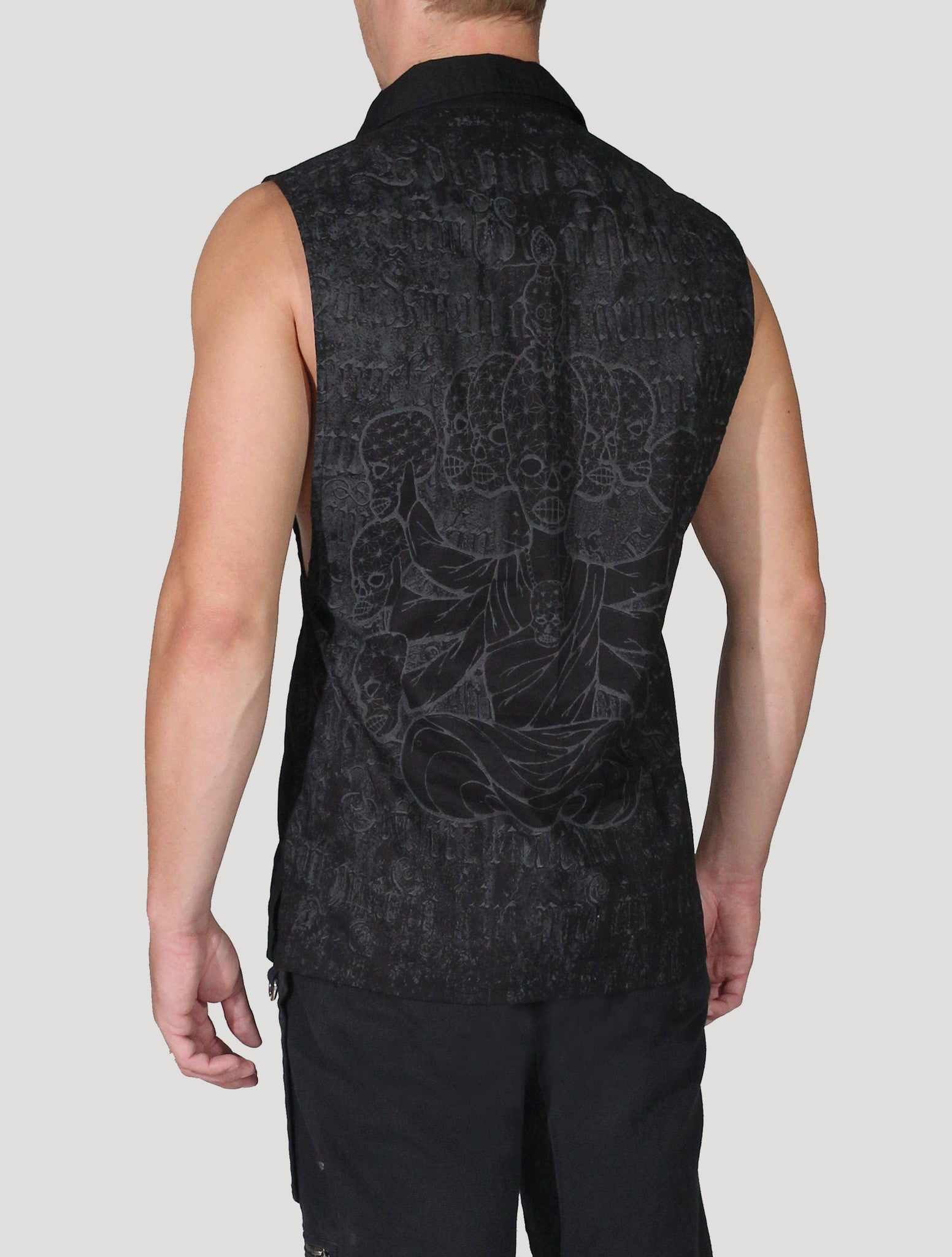 Crystal Skulls Sleeveless Shirt