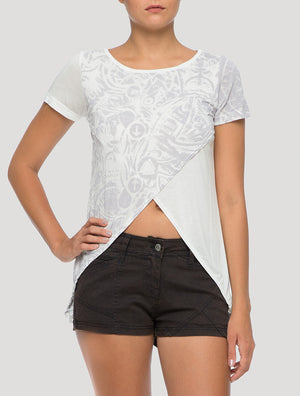 Crossop Top Short Sleeves