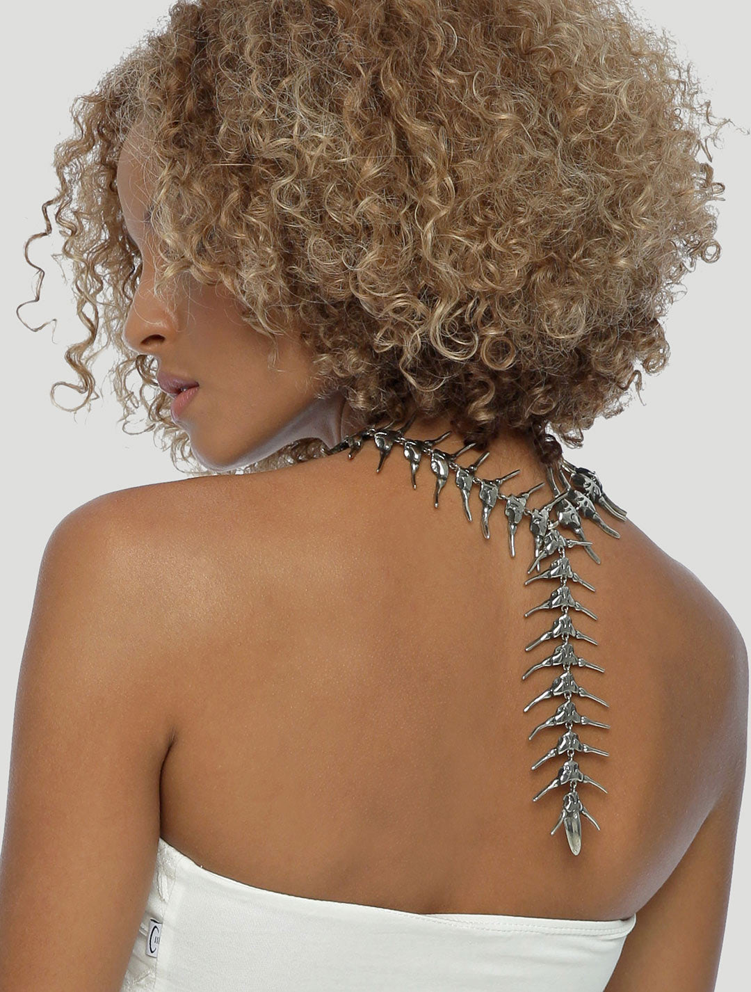 The Centipede Monster Neckpiece by Costume Therapy - Psylo Fashion
