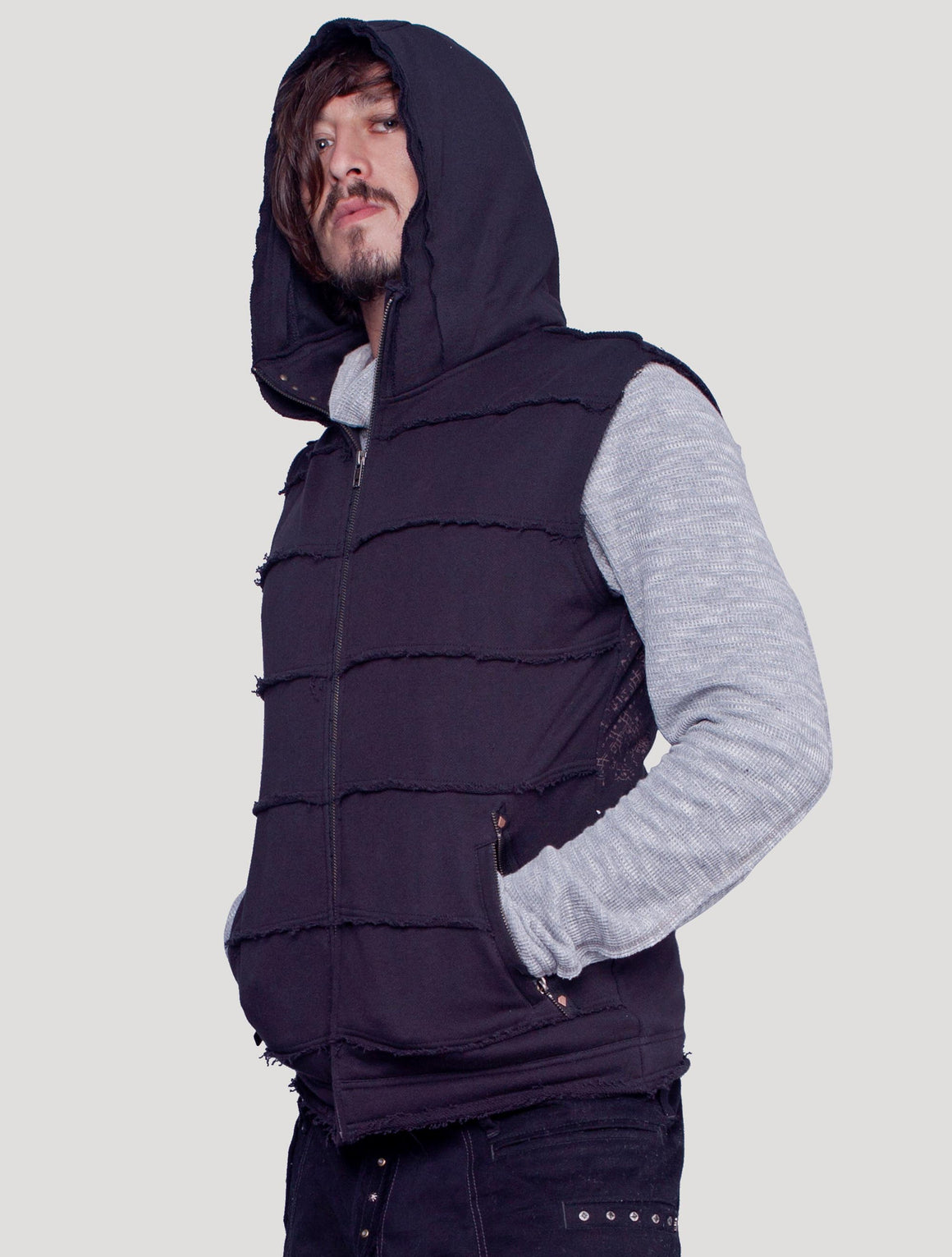 Demon Hooded Vest