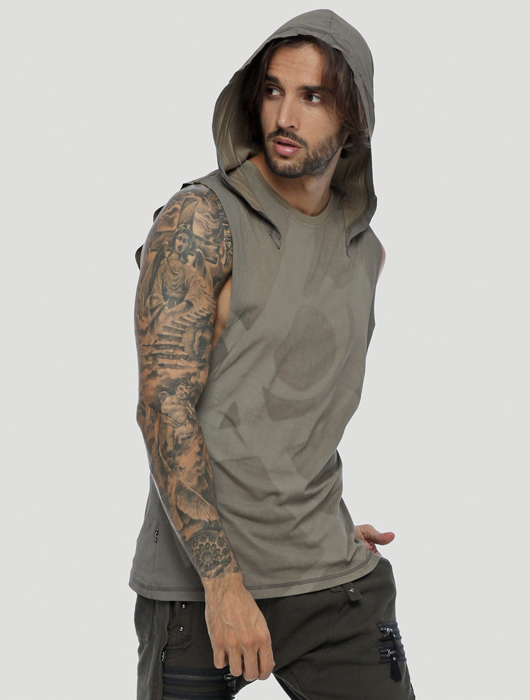 Fearless Hoodie Singlet Psylo Fashion Ethical Streetwear
