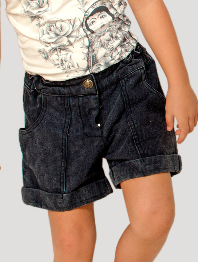 Girls Canvas Shorts (Kids)