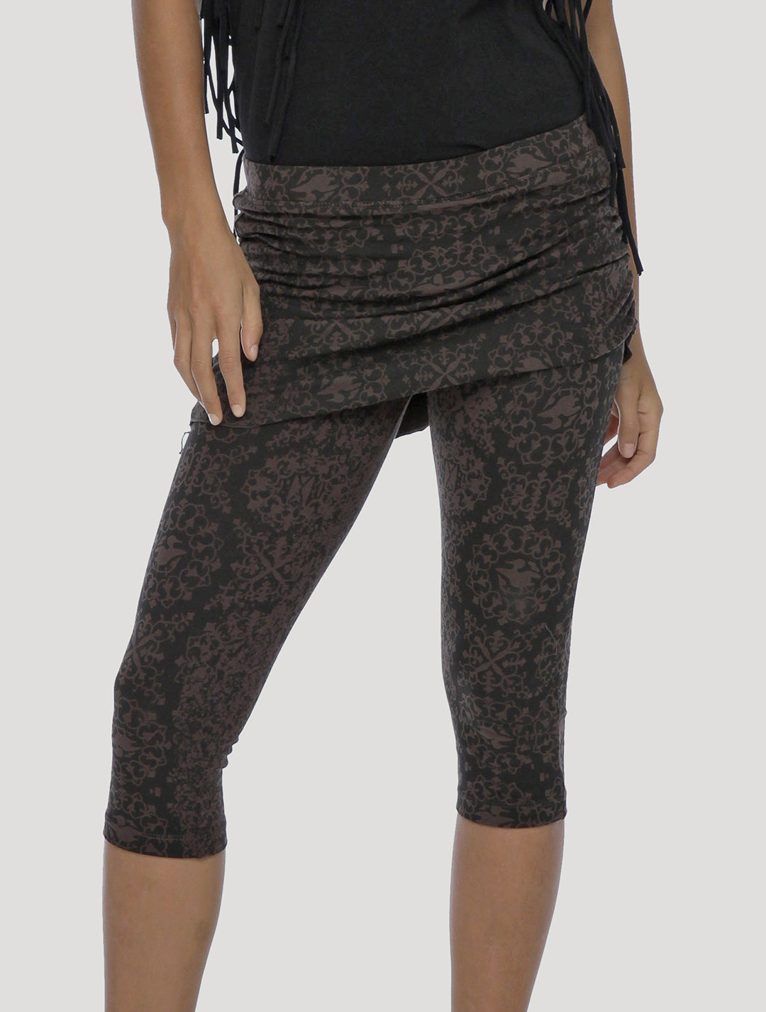 Isis The Goddess Skirted 3/4 Leggings - Psylo