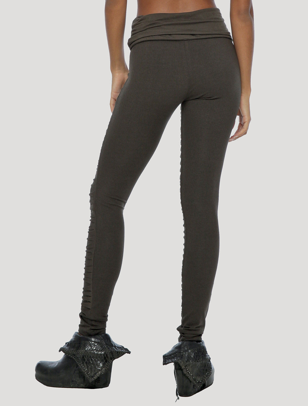 Jiko Foldover Long Leggings - Psylo Fashion