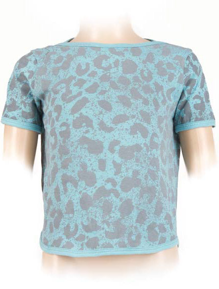 Leopard Short Sleeves Top (Kids)