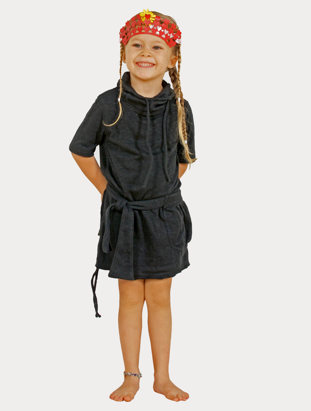Soba' Short Sleeves Dress (Kids)