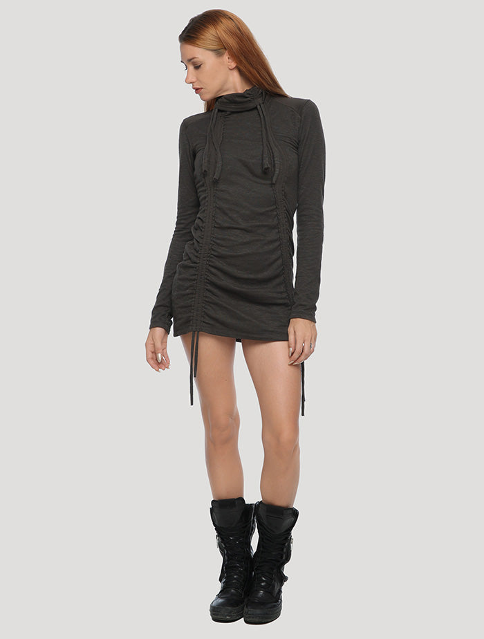 Kamer' Long Sleeves Mini Dress