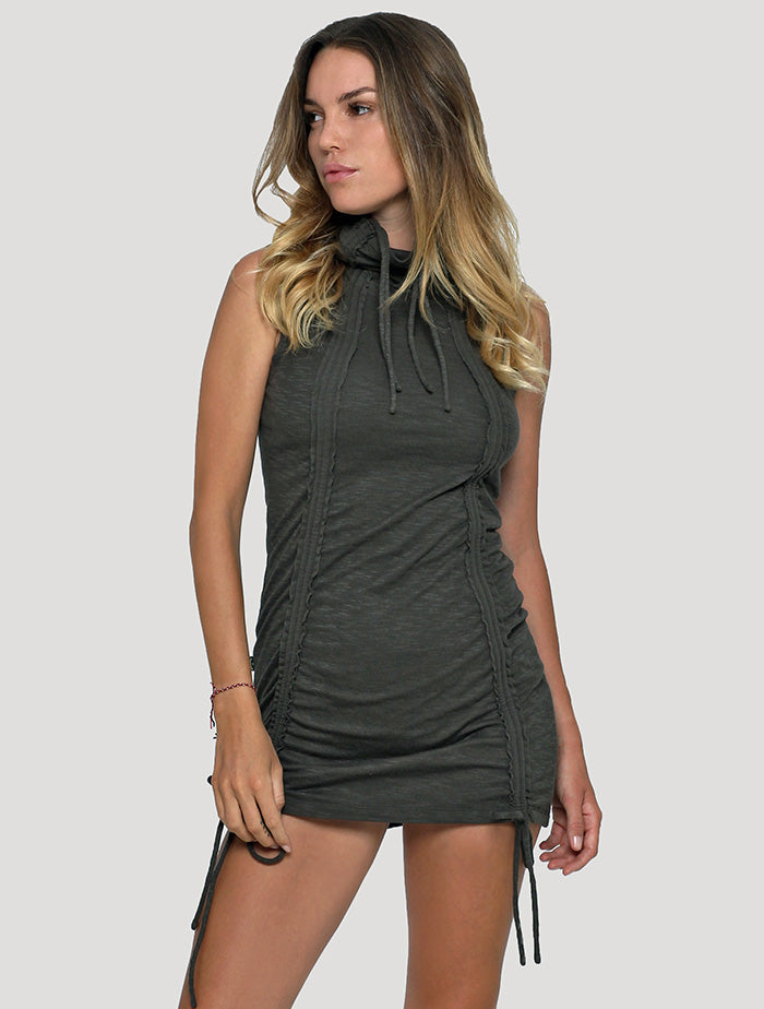 Kamer' Sleeveless Mini Dress