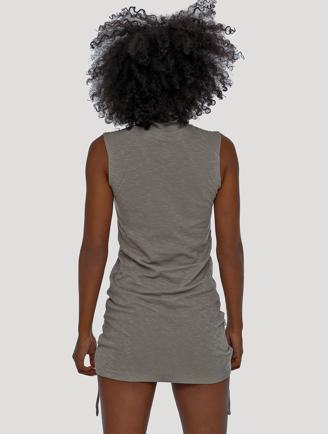 Kamer Sleeveless Mini Dress