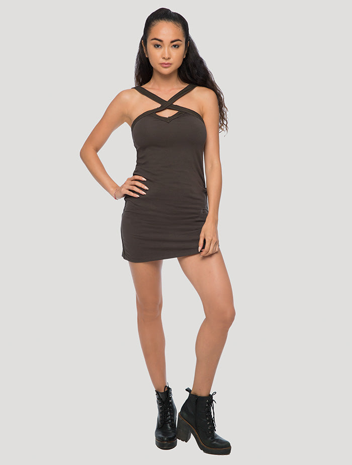 Lofen' Sleeveless Mini Dress