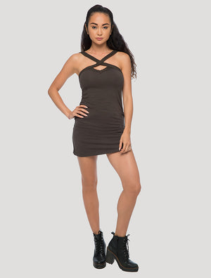 'Lofen' Sleeveless Mini Dress
