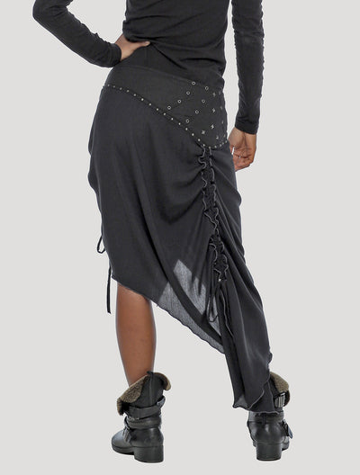Lolo Long Wrap Skirt