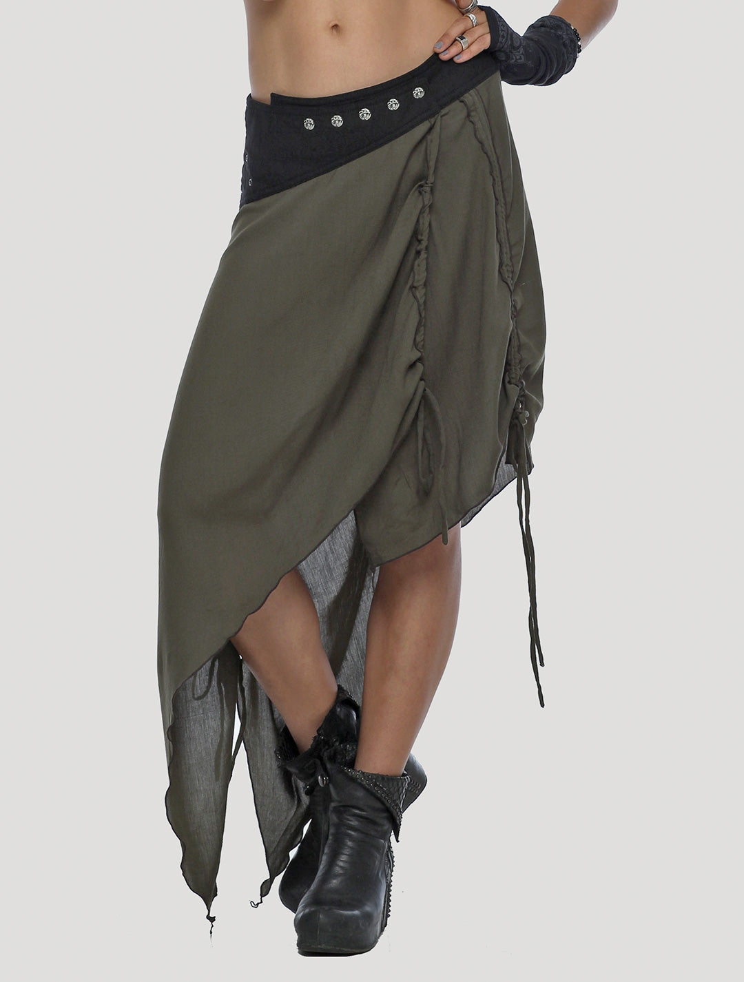 Lolo Long Wrap Skirt - Psylo Fashion