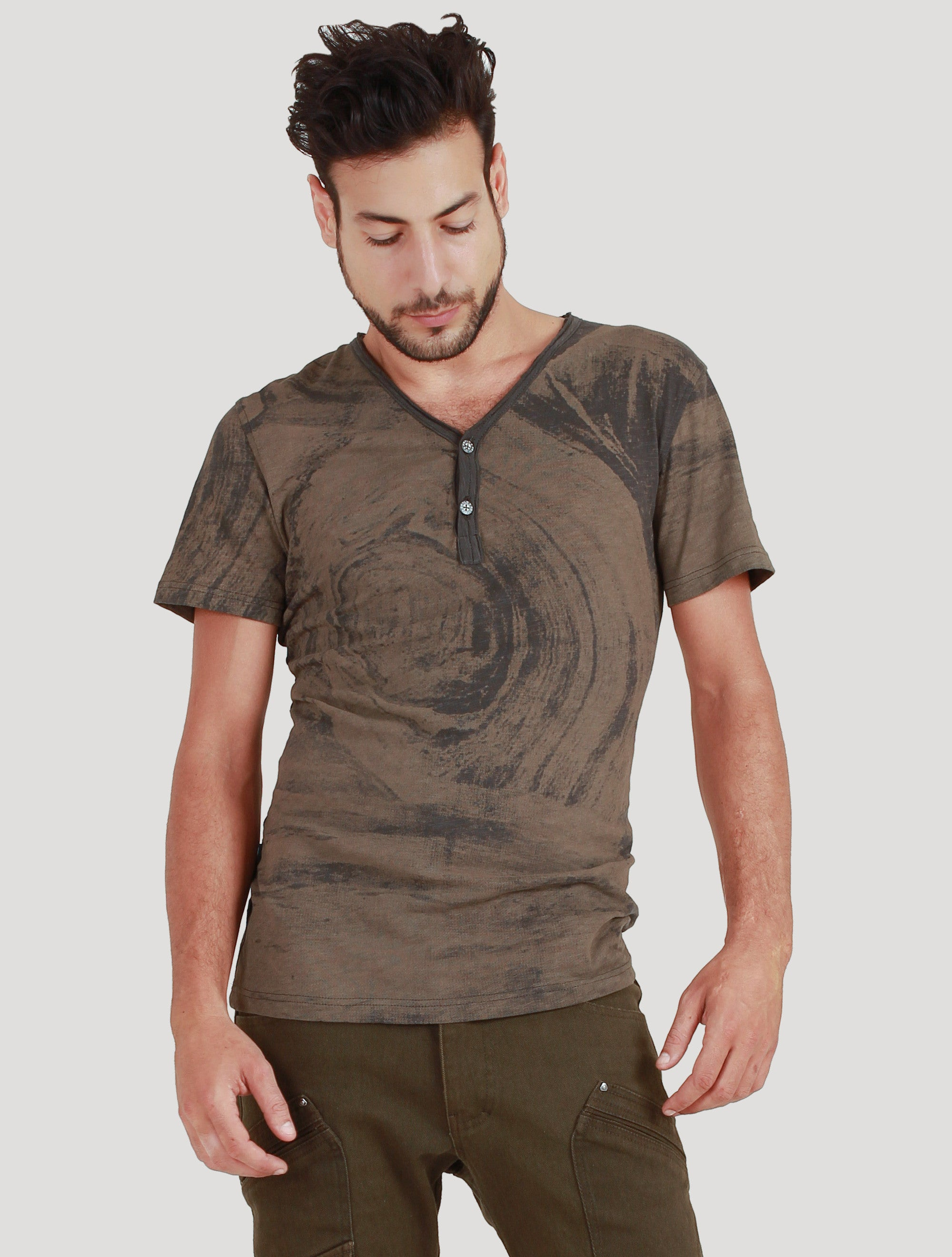 Marble Short Sleeves Tee - Psylo Fashion