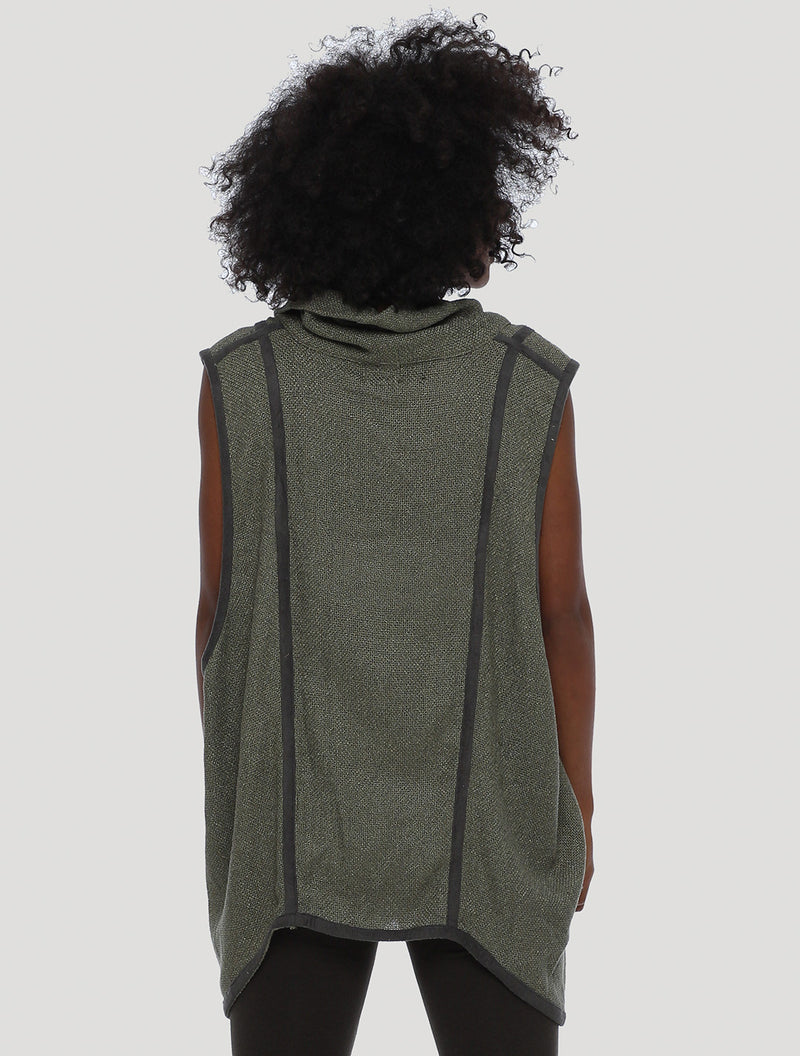 Mini Cleo Sleeveless Short Vest by Alekai