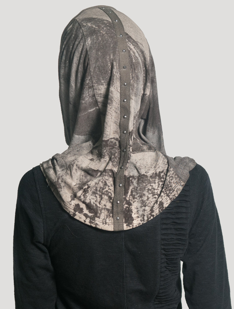 Marble Hooded Neck warmer