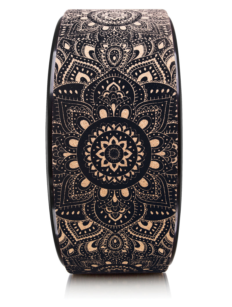 Mandala Black Wheel by Yoga Design Lab