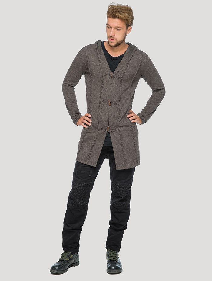 Nomad' Hoodie Cardigan Light Coat