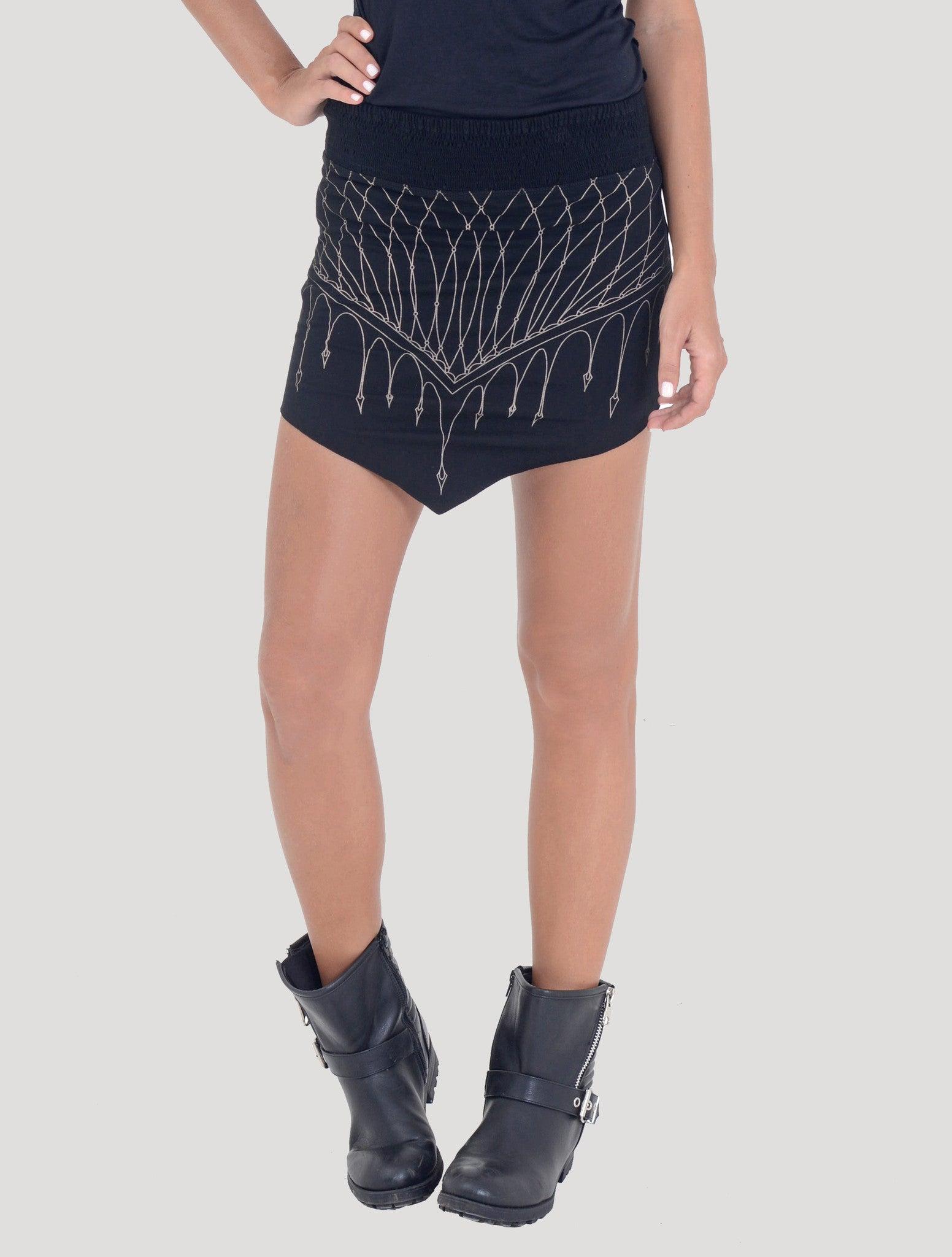 Net Mini Skirt