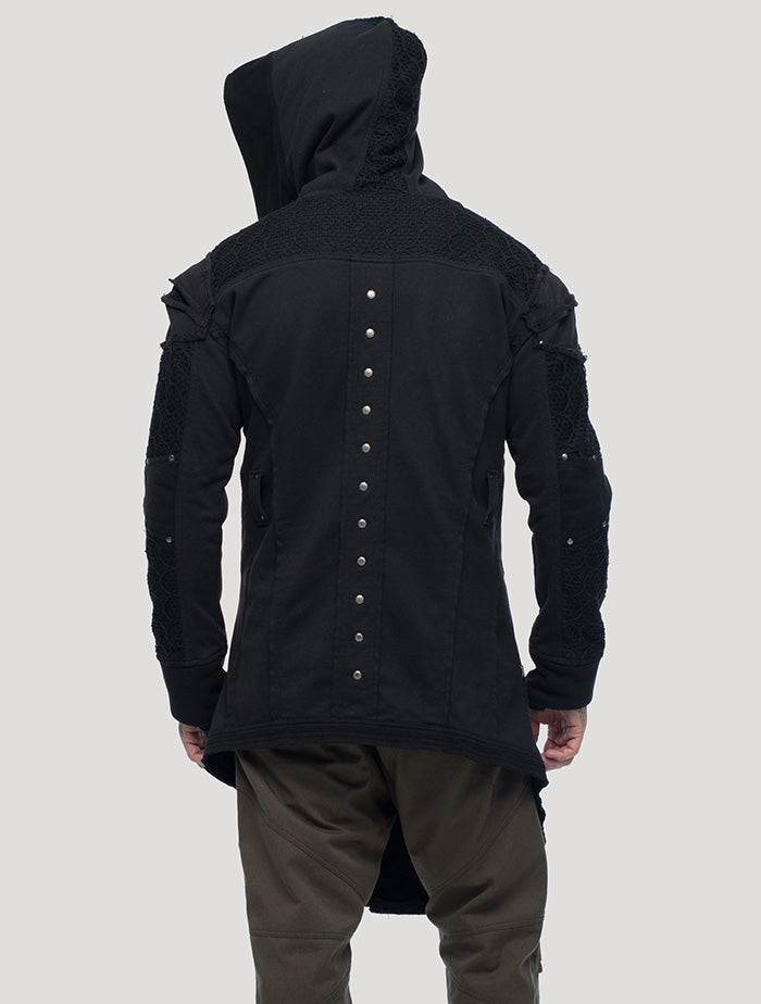 New Steamed Hoodie Coat