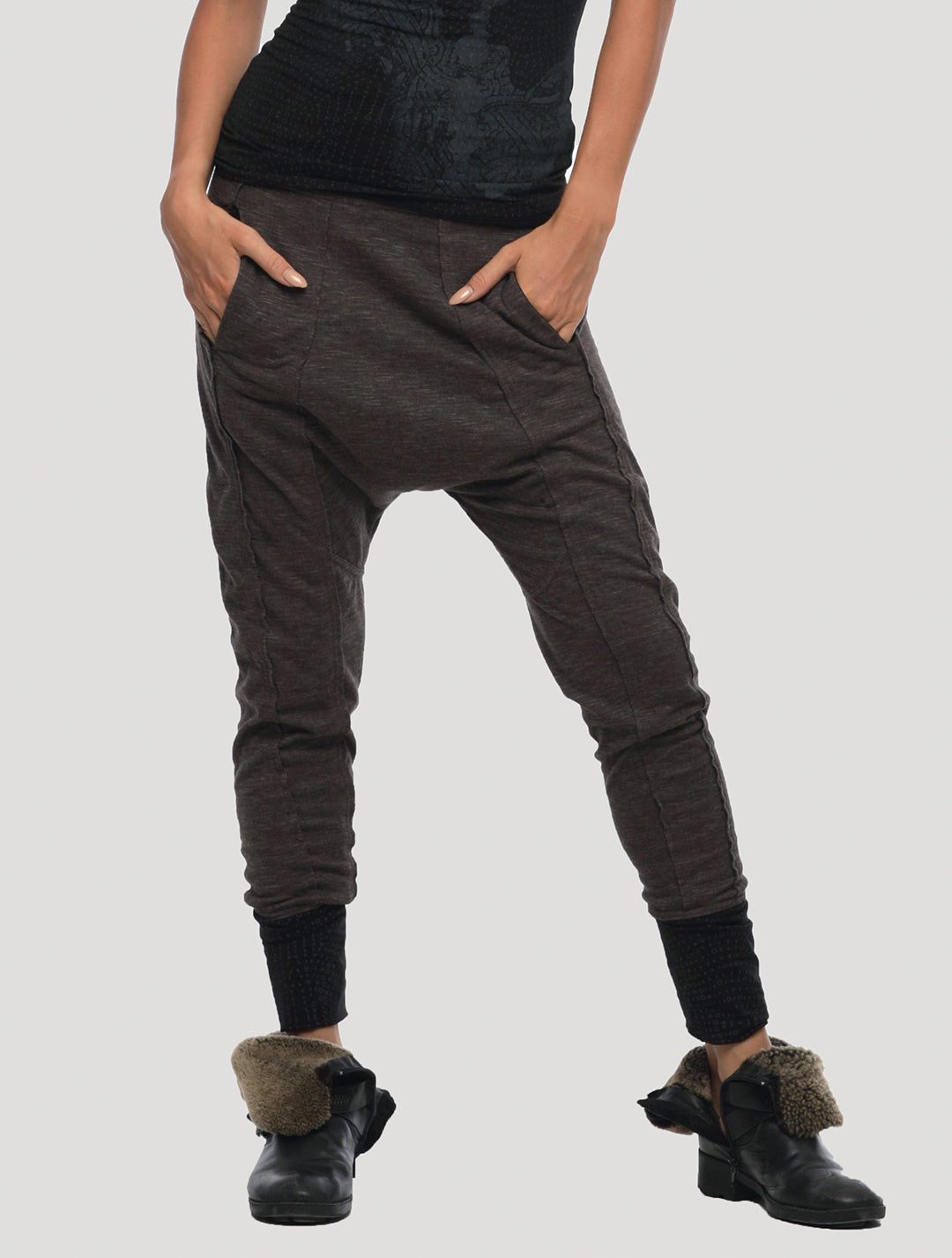 Onicha Low Crotch Track Pants