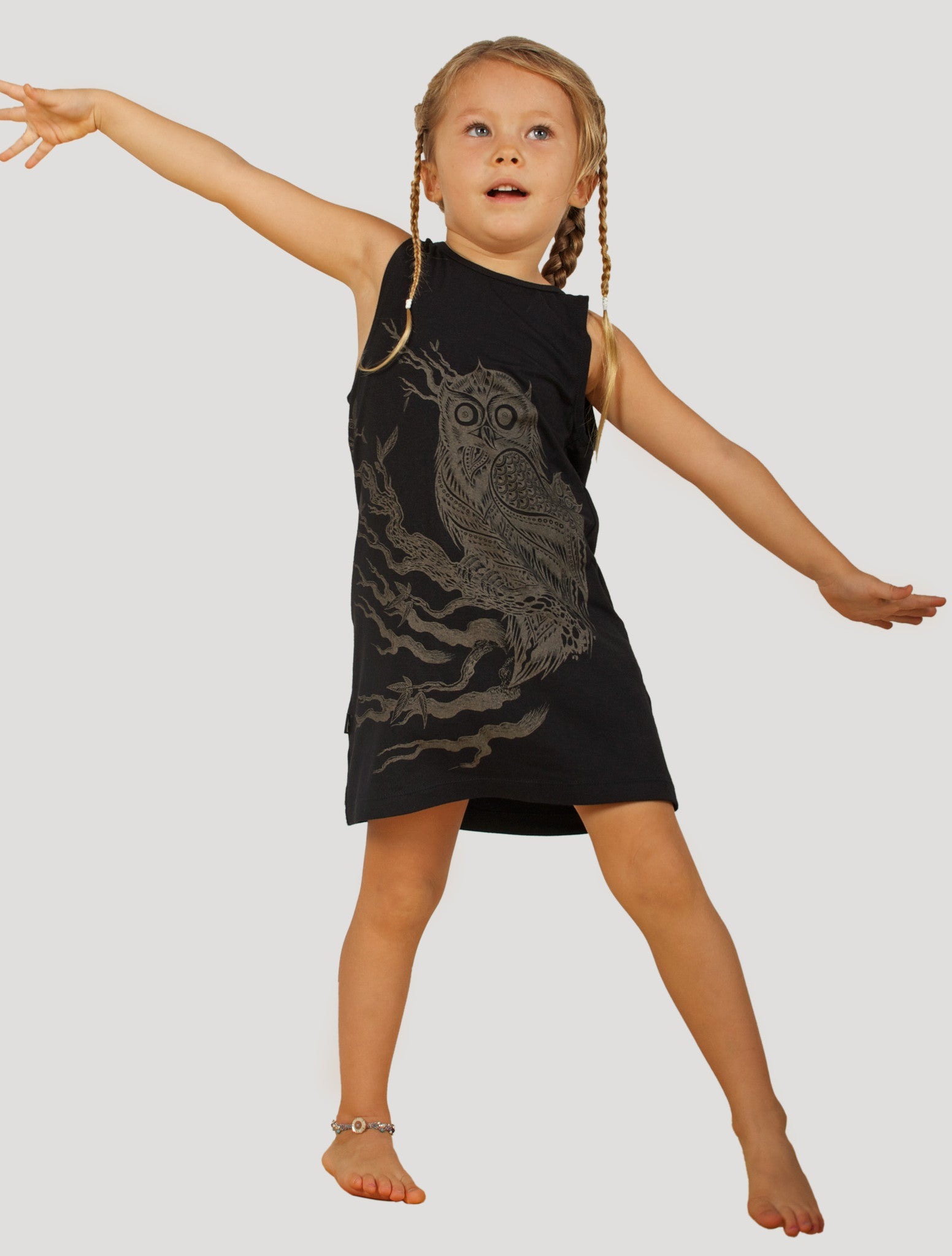 Owl Dress (kids)