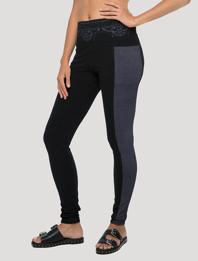 Poke Long Leggings with Pockets