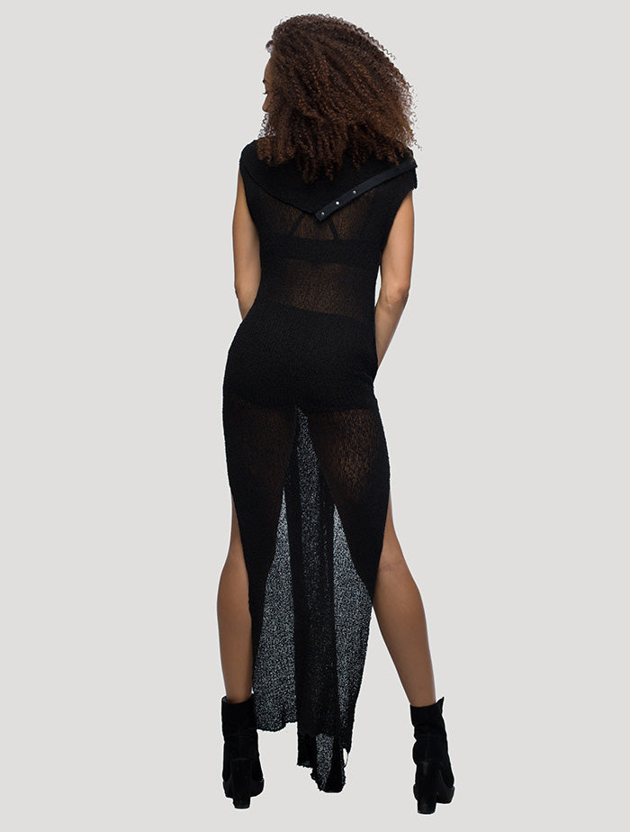 Ply See-Through Dress - Psylo Fashion