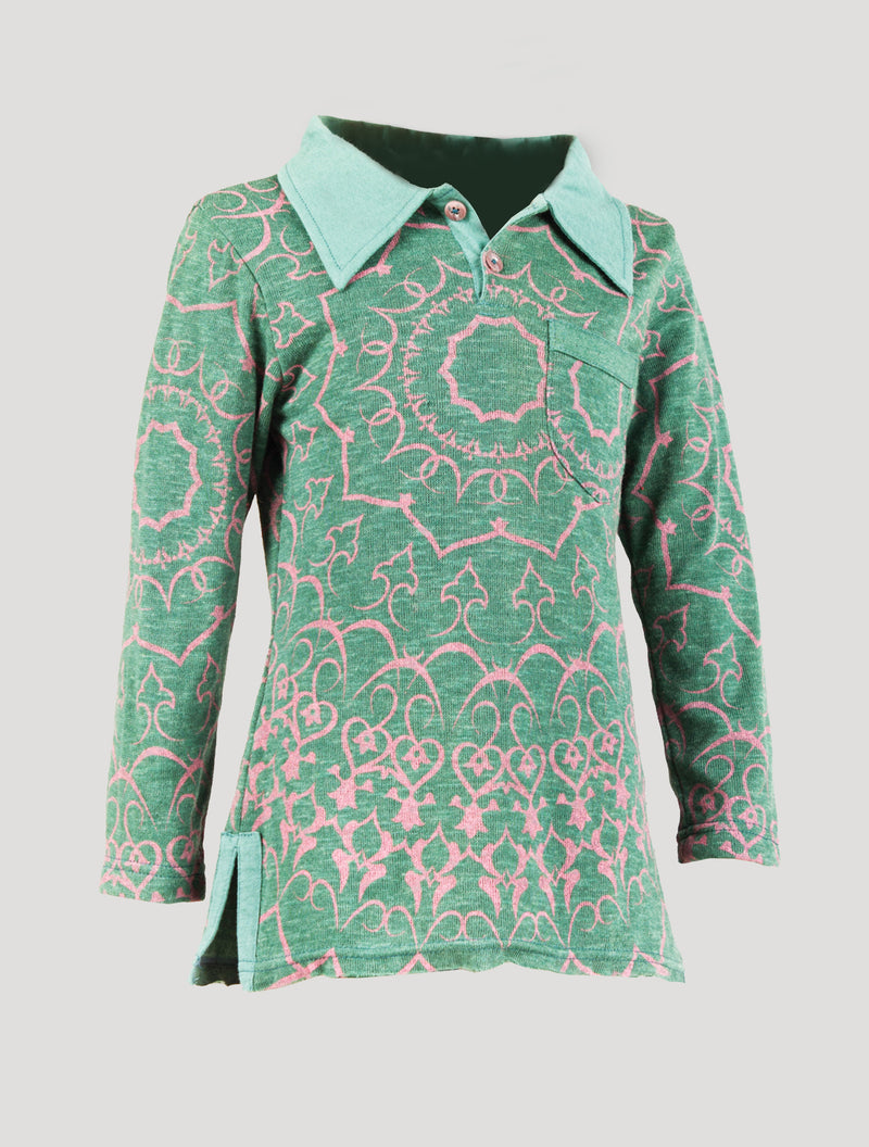 Polo Dress Long Sleeves (Kids)