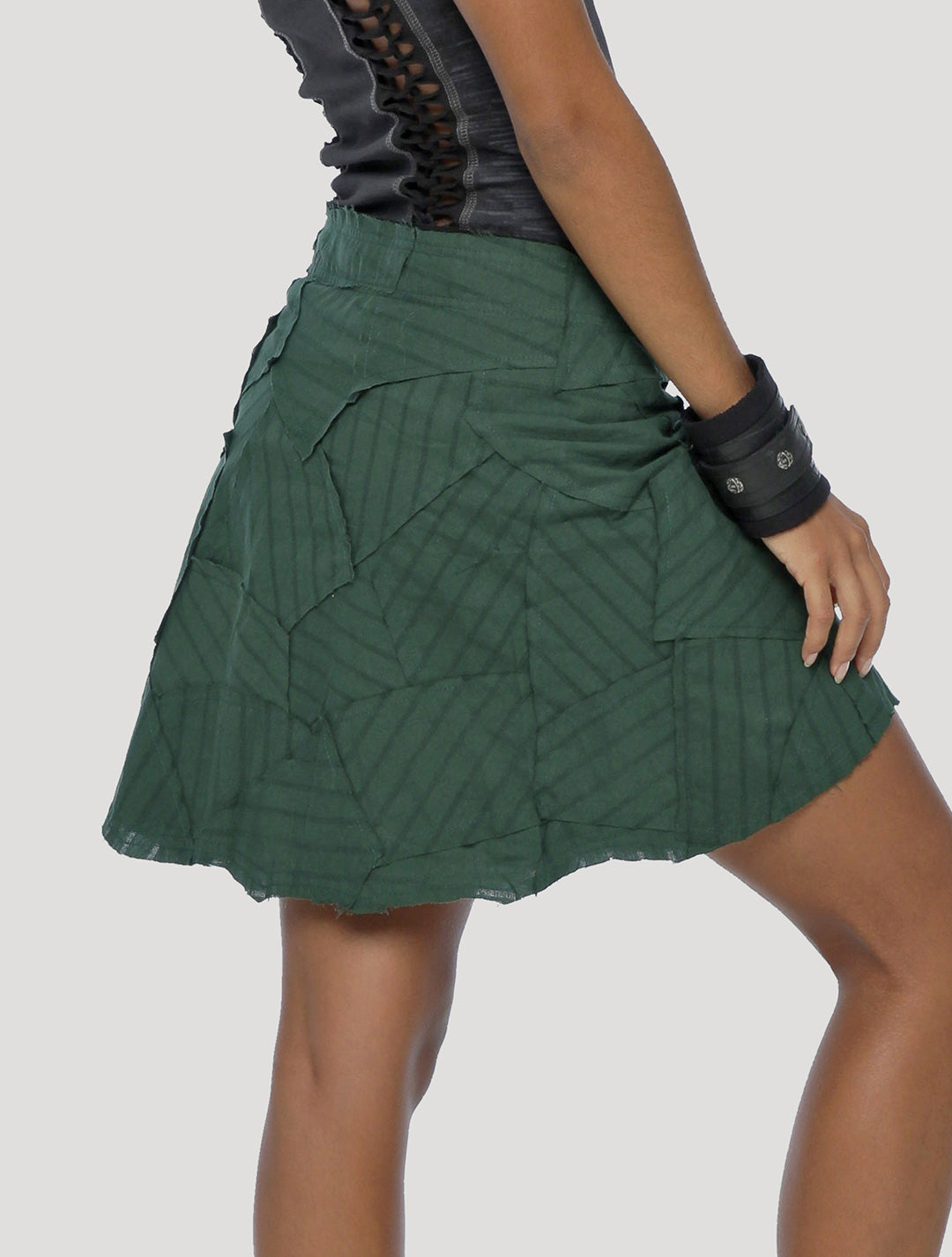 New Pecoa Veg Mini Wrap Skirt