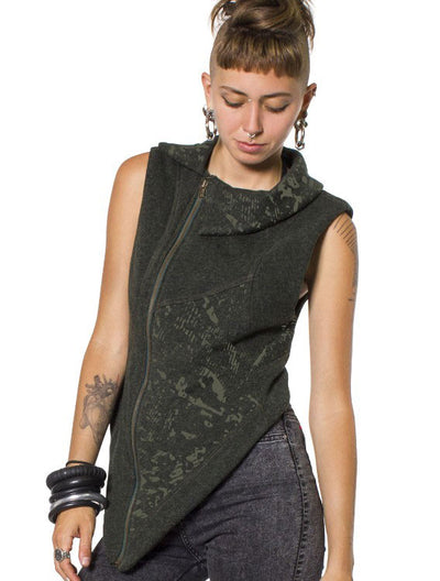 Chester Women Vest by Plazmalab