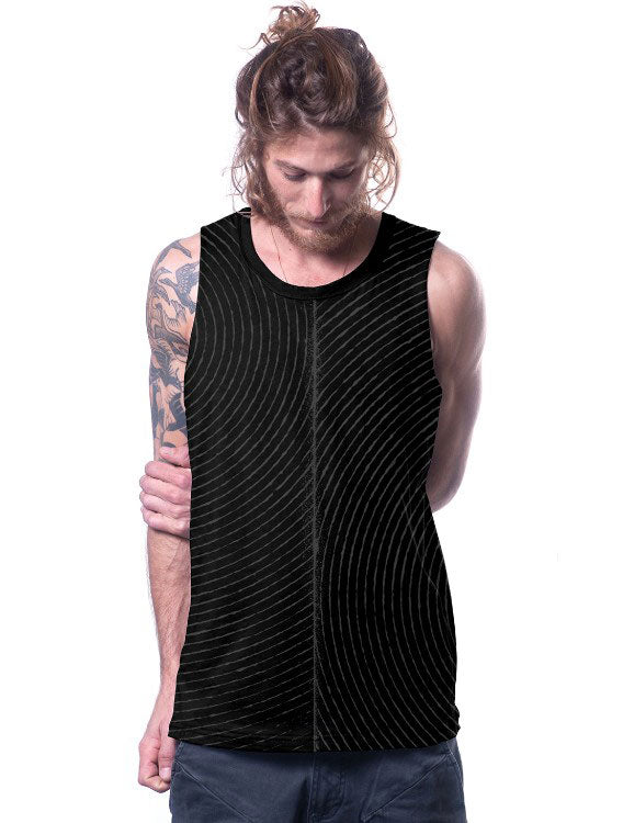 Lines Tank top by PlazmaLab