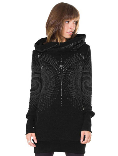 Venus Women's Hoodie Mini-Dress by PlazmaLab